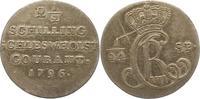 2 1/2 Schilling 1796 Schleswig-Holstein-Königliche Linie Christian VII.... 10,00 EUR  + 4,00 EUR frais d'envoi