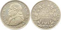 10 Soldi 1866  R Italien-Kirchenstaat Vatikan Pio IX. 1846-1878. Sehr s... 15,00 EUR  + 4,00 EUR frais d'envoi