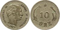 10 Öre 1 1874 Dänemark Christian IX. 1863-1906. Fast sehr schön  9,00 EUR  + 4,00 EUR frais d'envoi