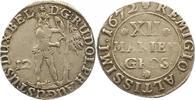 12 Mariengroschen 1672 Braunschweig-Wolfenbüttel Rudolf August 1666-168... 32,00 EUR  + 4,00 EUR frais d'envoi