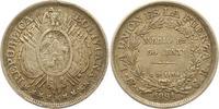 50 Centavos 1891 Bolivien Republik. Sehr schön +  14,00 EUR  + 4,00 EUR frais d'envoi