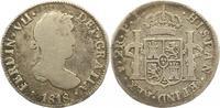 2 Reales 1818 Bolivien Ferdinand VII. 1808-1825. Schön  15,00 EUR  + 4,00 EUR frais d'envoi
