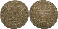 1/12 Taler 1713 Sachsen-Albertinische Linie Friedrich August I. 1694-17... 36,00 EUR  + 4,00 EUR frais d'envoi