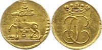 1/4 Dukat Gold  1704-1739 Stolberg-Stolberg Jost Christian, allein 1704... 625,00 EUR envoi gratuit