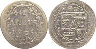 2 Albus 1705 Hessen-Darmstadt Ernst Ludwig 1678-1739. Gereinigt, sehr s... 10,00 EUR  + 4,00 EUR frais d'envoi
