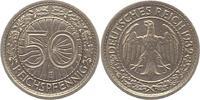 50 Reichspfennig 1932  E Weimarer Republik  Sehr schön - vorzüglich  110,00 EUR  + 4,00 EUR frais d'envoi