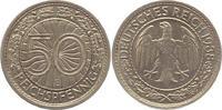 50 Reichspfennig 1938  E Weimarer Republik  Fast vorzüglich  22,00 EUR  + 4,00 EUR frais d'envoi