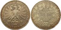Doppeltaler 1841 Frankfurt-Stadt  Winz. Randfehler, sehr schön  195,00 EUR  + 4,00 EUR frais d'envoi