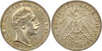 3 Mark 1910  A Preußen Wilhelm II. 1888-1918. Vorzüglich +  25,00 EUR  + 4,00 EUR frais d'envoi