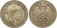 2 Mark 1896  A Schwarzburg-Sondershausen Karl Günther 1880-1909. Sehr s... 365,00 EUR envoi gratuit