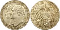 5 Mark 1903  A Sachsen-Weimar-Eisenach Wilhelm Ernst 1901-1918. Winz. K... 245,00 EUR  + 4,00 EUR frais d'envoi