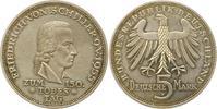 5 Mark 1955  F Münzen der Bundesrepublik Deutschland Mark 1945-2001. Mi... 165,00 EUR  + 4,00 EUR frais d'envoi