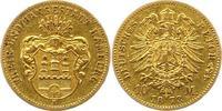 10 Mark Gold 1873  B Hamburg  Sehr schön  3950,00 EUR envoi gratuit