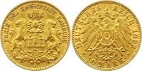 10 Mark Gold 1893  J Hamburg  Sehr schön +  240,00 EUR  + 4,00 EUR frais d'envoi