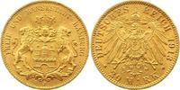 20 Mark Gold 1913  J Hamburg  Vorzüglich - Stempelglanz  345,00 EUR envoi gratuit