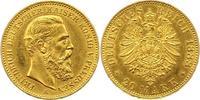 20 Mark Gold 1888  A Preußen Friedrich III. 1888. Vorzüglich +  365,00 EUR envoi gratuit