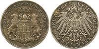 2 Mark 1912  J Hamburg  Schöne Patina. Sehr schön - vorzüglich  95,00 EUR  + 4,00 EUR frais d'envoi