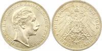 3 Mark 1910  A Preußen Wilhelm II. 1888-1918. Prachtexemplar. Fast Stem... 45,00 EUR  + 4,00 EUR frais d'envoi
