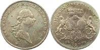 Taler 1767  G Brandenburg-Ansbach Alexander 1757-1791. Leicht justiert,... 225,00 EUR  plus 4,00 EUR verzending