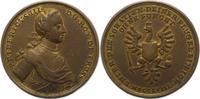 Bronzegussmedaille 1758 Brandenburg-Preußen Friedrich II. 1740-1786. Se... 55,00 EUR  + 4,00 EUR frais d'envoi