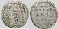 Halber Landbatzen 1731 ERZBISTUM SALZBURG Leopold Anton Eleutherius Fre... 30,00 EUR  zzgl. 5,00 EUR Versand