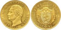 10 Gulden - sehr seltener Jahrgang 1842 Hessen-Darmstadt, Großherzogtum... 2750,00 EUR free shipping