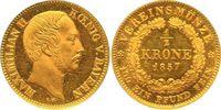 Halbe Vereinskrone - RR 1857 Bayern, Königreich Maximilian II. (1848-18... 8000,00 EUR free shipping