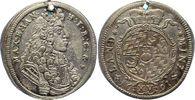 15 Kreuzer (1/4 Gulden) 1691 Bayern, Kurfürstentum Maximilian II. Emanu... 60,00 EUR  +  7,50 EUR shipping