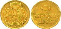 Goldabschlag von den Stempeln des Pfennigs - R 1765 Sachsen, Kurfürsten... 750,00 EUR  +  12,50 EUR shipping