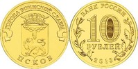 10 Rubel 2013 Rußland - Russia Pskow- Stadt des militärischen Ruhms Ste... 2,00 EUR  zzgl. 4,50 EUR Versand
