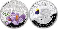 10 Rubel 2013 Belarus - Weissrussland Blumen in Belarus: Krokus Poliert... 45,00 EUR  zzgl. 4,50 EUR Versand