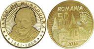 50 Bani 2016 Rumänien - Romania Ioan de Hunedoara(Johann Hunyadi)- Woiw... 3,00 EUR  zzgl. 4,50 EUR Versand
