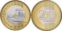 200 Forint 2011 Ungarn Hungary Umlaufmünze zu 200 Forint seit 15. 6. 19... 1,50 EUR