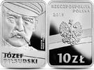 """Polen Polska Poland 10 Zlotych """"Hundertjahrfeier der Unabhängigkeit– Jozef Pilsudski"""""""