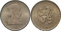 10 Kronen 1968 CSR / CSSR / CSFR - Tschechoslowakei Jan Hus - 550. Gebu... 15,00 EUR  zzgl. 4,50 EUR Versand