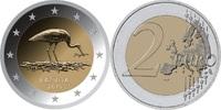 2 EUR 2015 Lettland - Latvija - Latvia Storch unzirkuliert  3,00 EUR  zzgl. 4,50 EUR Versand
