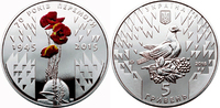 5 Hriwen im Folder 2015 Ukraine 70 Jahre Befreiung der Ukraine uncircul... 15,00 EUR  zzgl. 4,50 EUR Versand