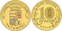 10 Rubel 2015 Rußland - Russia Taganrog Stempelglanz - unzirkuliert  2,00 EUR  zzgl. 4,50 EUR Versand