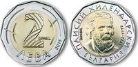 2 Lewa  Bulgarien -  Bulgaria Umlaufmünze Bimetall Paisii Hilendarski u... 2,50 EUR  zzgl. 4,50 EUR Versand