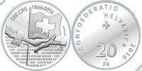 20 Franken 2016 Schweiz 150 Jahre Schweizer Rotes Kreuz unzirkuliert St... 39,00 EUR