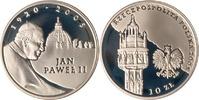 10 Zloty 2005 Polen Polska Poland Papst Johannes Paul II. 1920 - 2005 P... 12,00 EUR