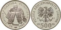500 Zlotych 1987 Polen - Polska - Poland XXV Olympische Spiele 1988 in ... 10,00 EUR