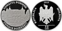 """50 Lei NUR 500 Auflage 2015 Moldawien (Moldau) Moldova """"Pommer Manur"""" b... 39,00 EUR"""