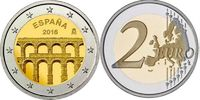 2 EUR 2016 Spanien- Espana - Spain Aquädukt von Segovia unzirkuliert  3,50 EUR  zzgl. 4,50 EUR Versand