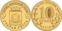10 Rubel 2016 Rußland - Russia Staraja Russa Heldenstadt Stempelglanz -... 2,00 EUR  zzgl. 4,50 EUR Versand