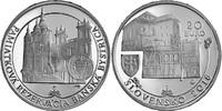 20 Euro 2016 Slowakei Slovensko Slovak Republic Denkmalschutzgebiet Ban... 59,00 EUR  zzgl. 4,50 EUR Versand