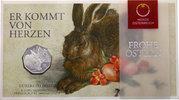 5 Euro 2016 Österreich - Austria Dürer Hase im Folder Stempelglanz  20,00 EUR  zzgl. 4,50 EUR Versand