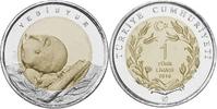1 Lira 2016 Türkei - Turkey Siebenschläfer unc Unzirkuliert  5,00 EUR  zzgl. 4,50 EUR Versand