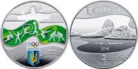 2 Hriwny 2 Griwna 2016 Ukraine XXXI. Olympische Sommerspiele in Rio de ... 13,00 EUR  zzgl. 4,50 EUR Versand