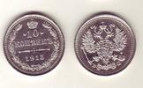 10 Kopeken 1915 Russland - Russia Umlaufmünze sehr schön  3,00 EUR